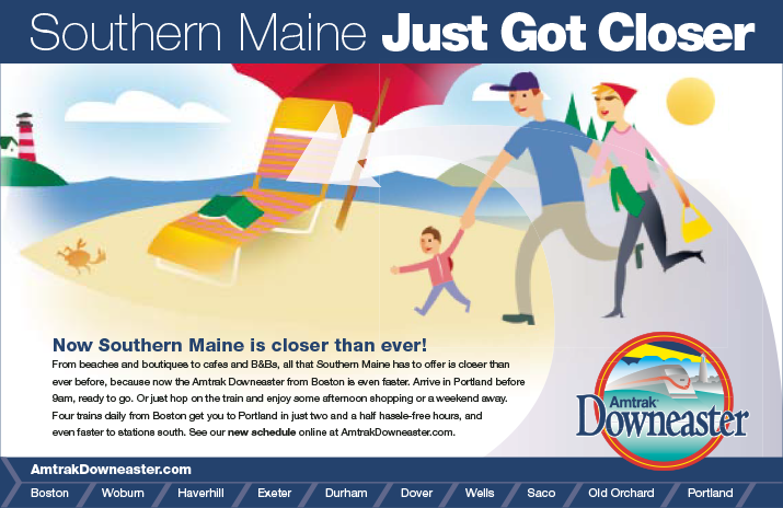 Maine Closer Beach ad