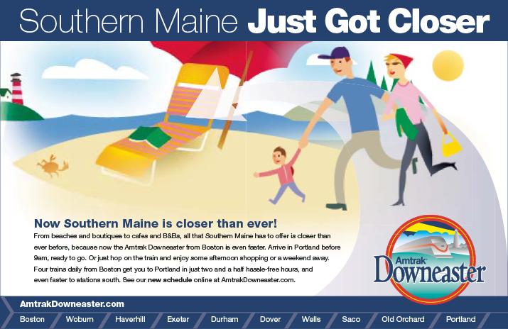 Maine Closer Beach ad