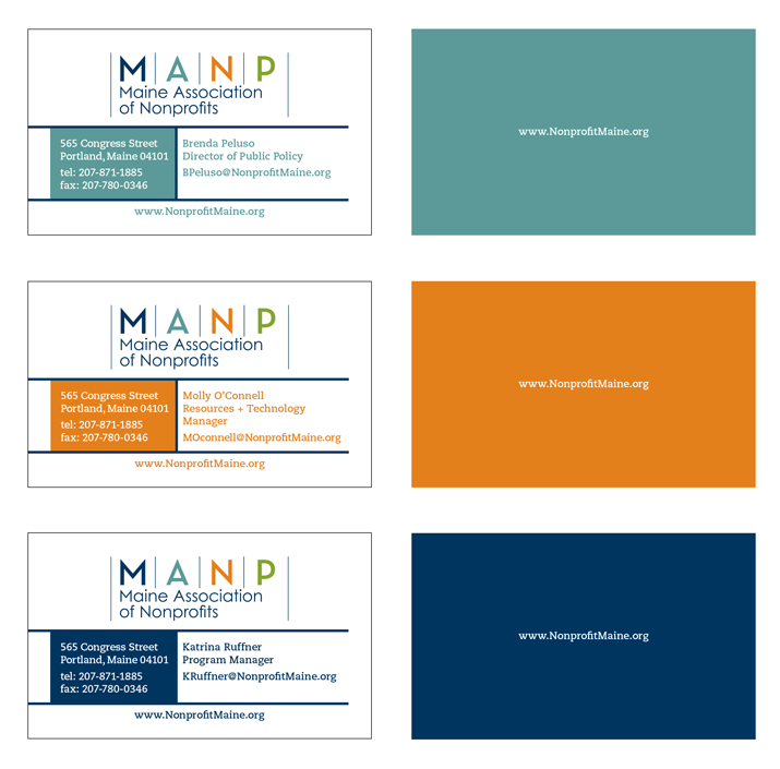 MANP Business Cards